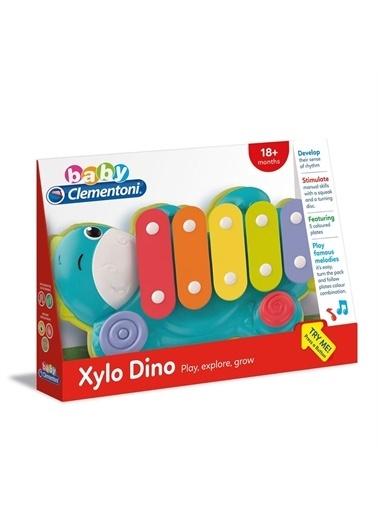 Clementoni Clementoni Baby Dinozor Ksilofon 17263 Renkli